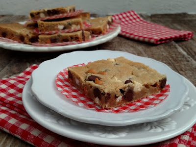 Midlife Crisis Blondies - On My Plate Blog