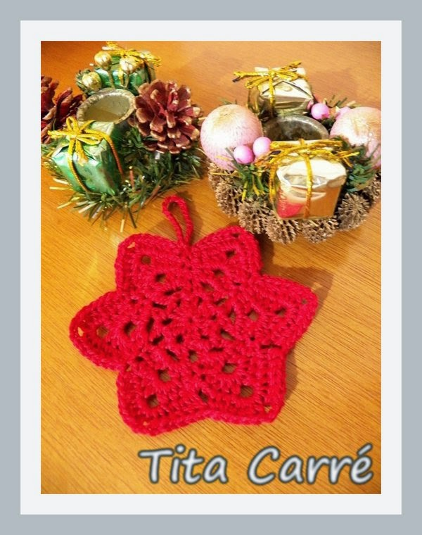 Pingente Estrela\Star para árvore de Natal