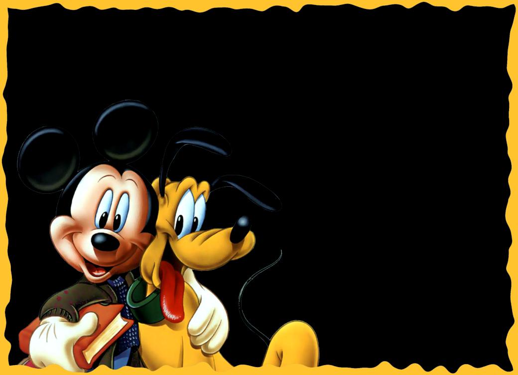 Marcos Png de Mickey Mouse para Niños. ~ Marcos Gratis ...
