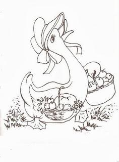 desenho semaninha da dona pata -sexta