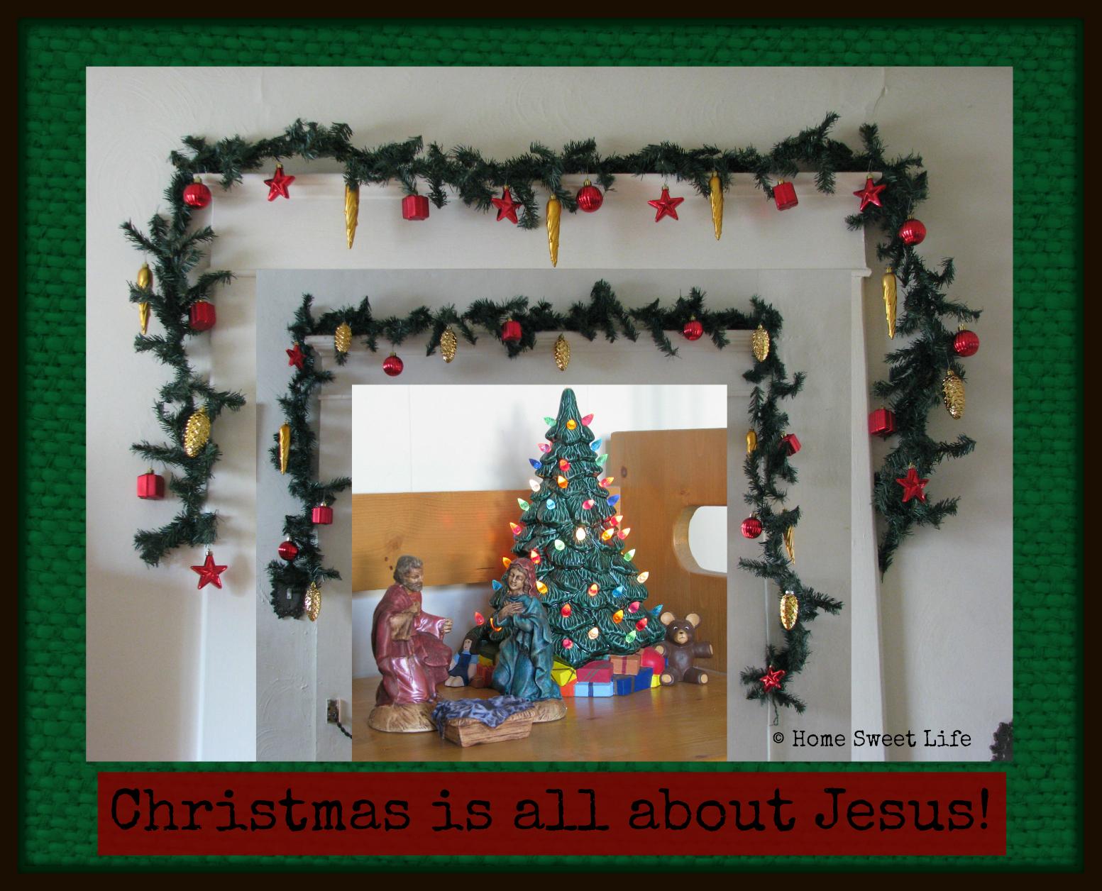 Christmas is abut Jesus