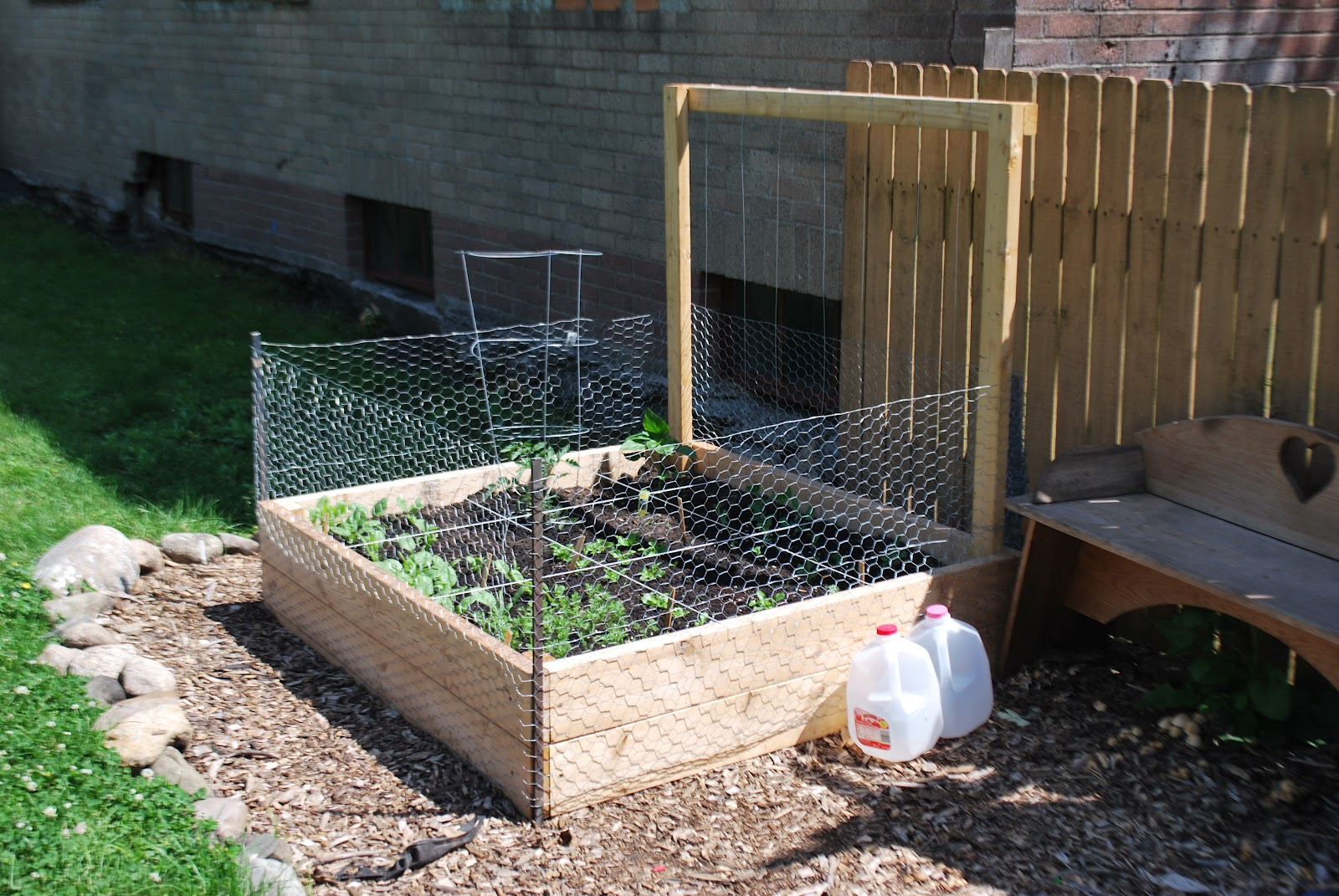 Diy Raised Garden Bed 4ft X 8ft