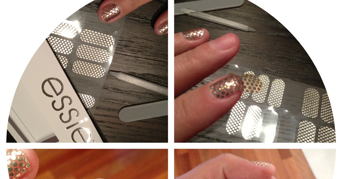 Viola Pearl: Product Review: Essie Nail Stickers
