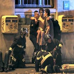 Dor e mortes no ataque terrorista
