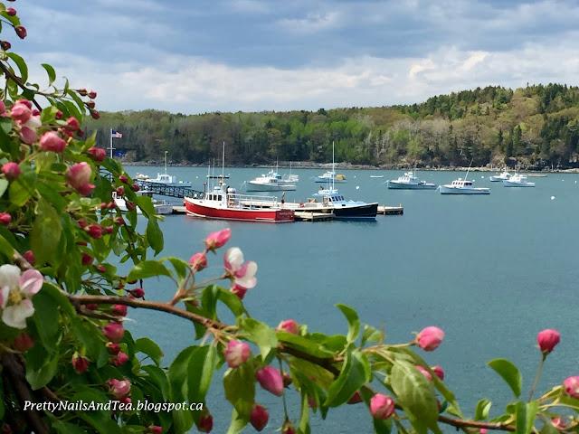 Bar Harbor Maine USA PrettyNailsAndTea