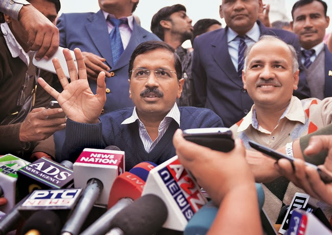 Jan Lokpal Bill Updates : Arvind Kejriwal resigns as Delhi CM
