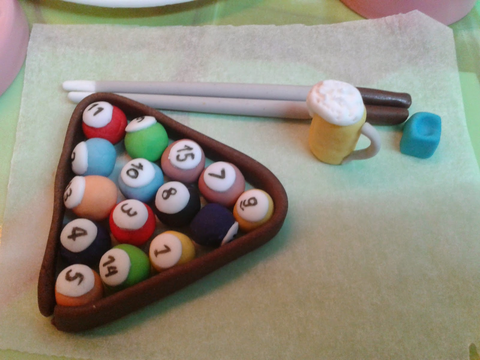 Cupcakes tenerife tarta mesa de billar - Cupcakes tenerife ...