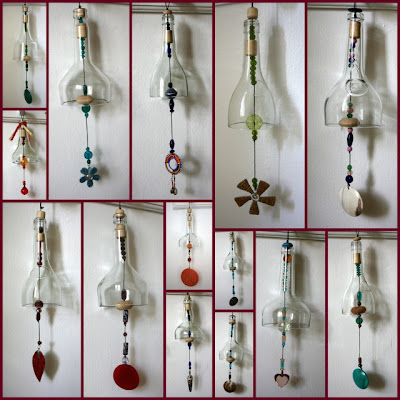 Good Glass, a social enterprise in Uganda, recycled glass wind chimes