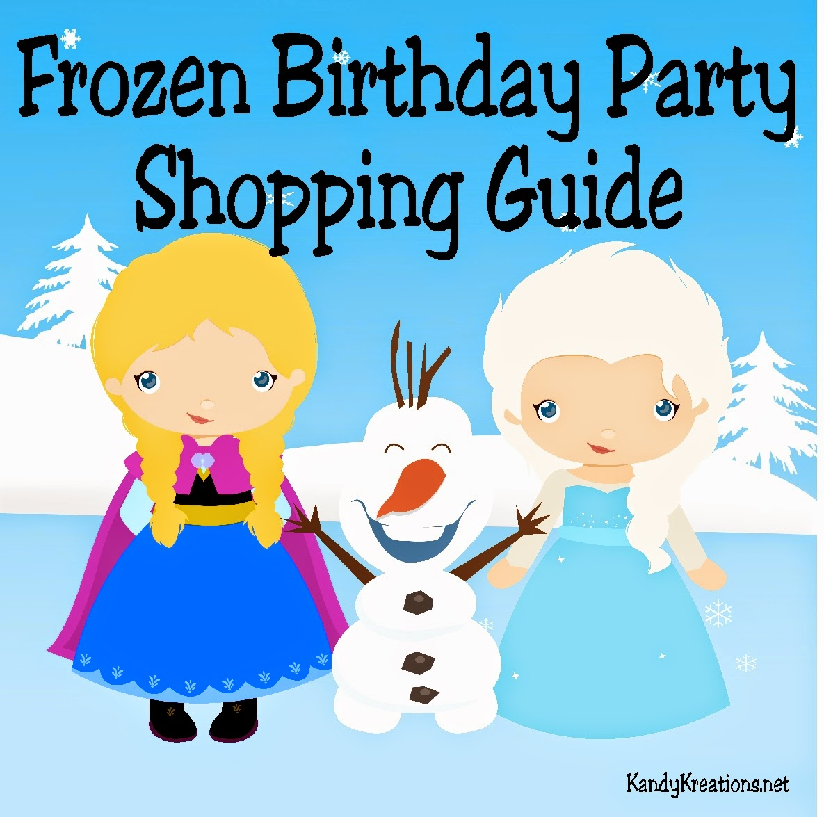 Throwing a Frozen Birthday party can be fun and overwhelming.  Need some help finding the great products out there to make your Elsa and Olaf the Snowman thrilled to come visit? Check out this great shopping guide with the most unique, fun, and perfect items to make you the best party planner ever!
