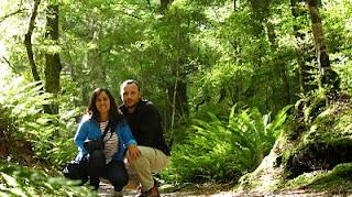En el recorrido del Kepler Track, NZ.