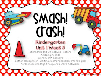 https://www.teacherspayteachers.com/Product/Smash-Crash-Kindergarten-Unit-1-Week-5-1255706