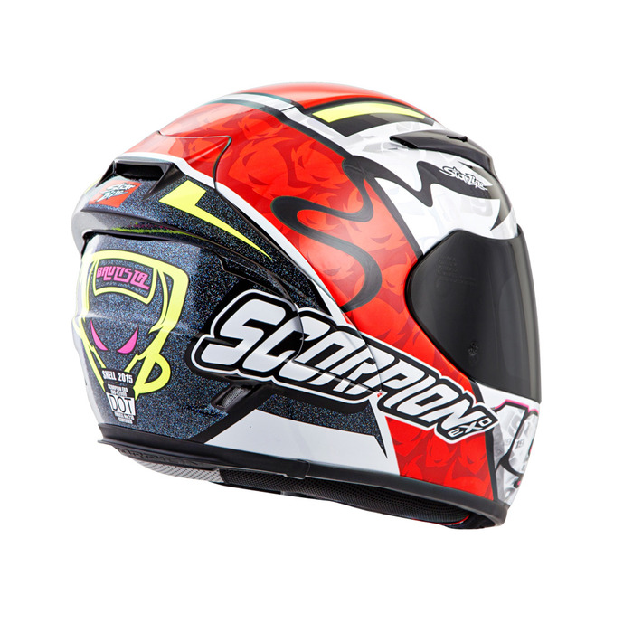 Racing Helmets Garage: Scorpion EXO-2000 Air EVO Replica ...