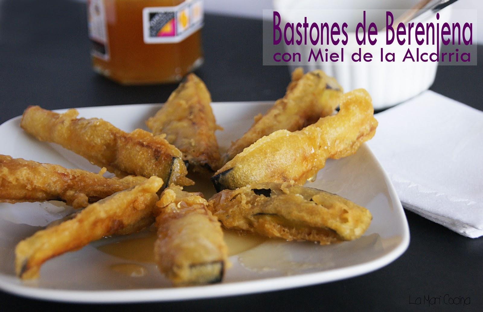 La Mari Cocina: Bastones de Berenjena con Miel de la Alcarria