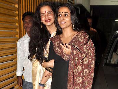 Rekha and Vidya Balan watches Kahaani cinema together