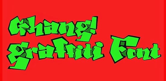 Free Graffiti Fonts - Ghang Graffiti