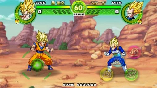 Download Game Dragon Ball Tap Battle.Apk