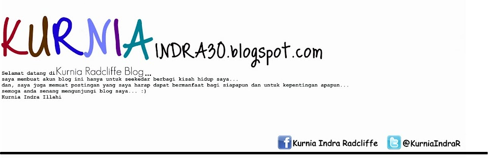 Kurnia Radclife Blog
