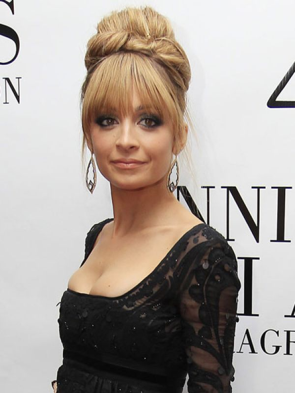 Nicole Richie Hairstyles with Bangs