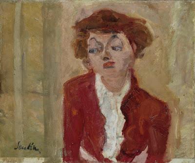 Chaim Soutine -Jeune Anglaise, 1934