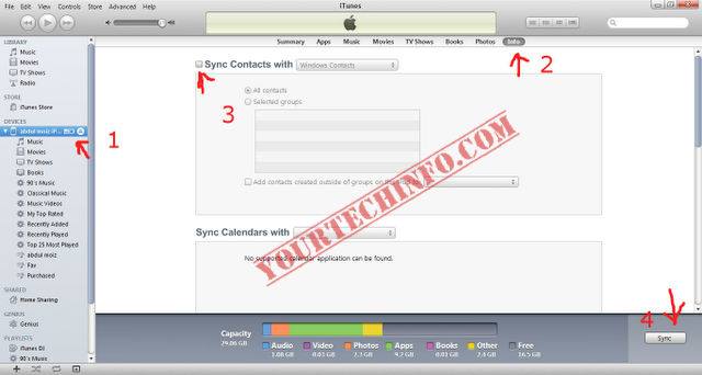 How To Delete All Contacts From iPhone & iPod
