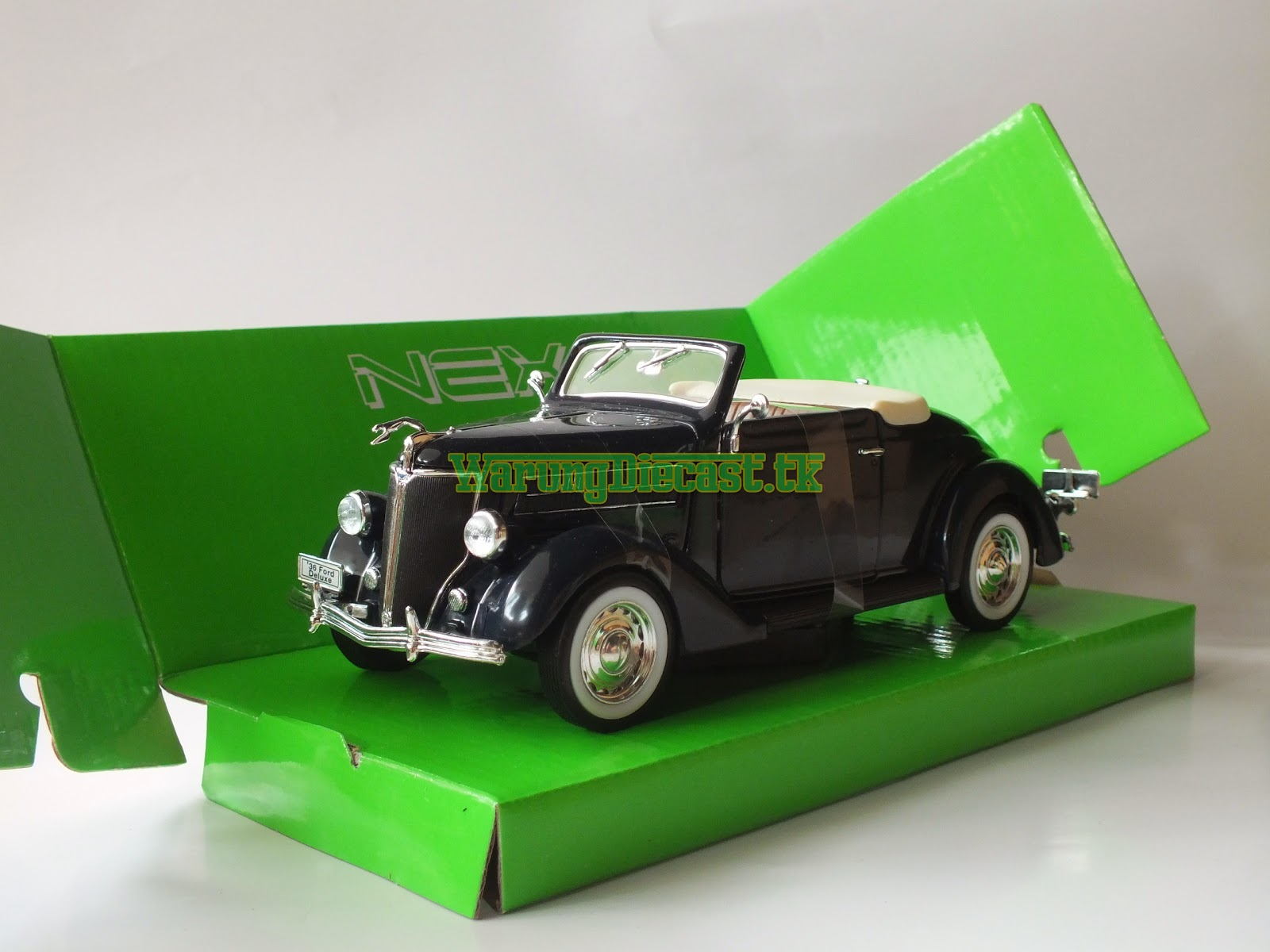 Welly 1 24 1936 ford deluxe cabriolet