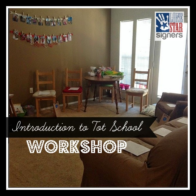 Recap: Introduction to Tot School Workshop