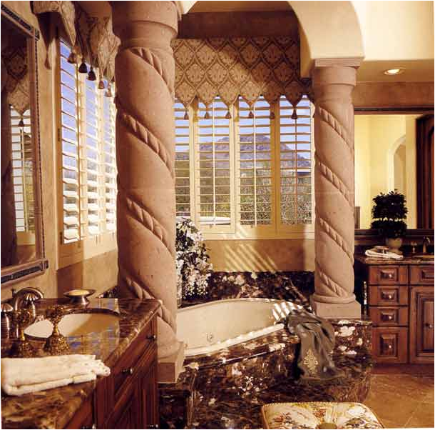 Key interiors by shinay tuscan bathroom design ideas for Tuscan interior designs