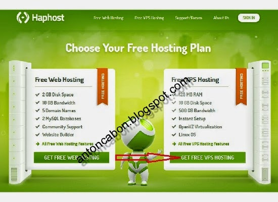 Cara Mendapatkan VPS Gratis Di Haphost com
