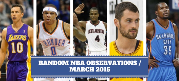 NBA Observations March 2015
