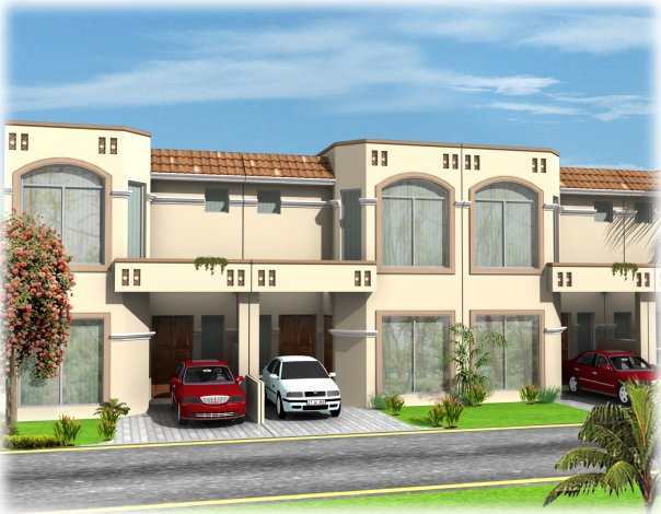 Amazing Photos,: 1 Kanal 3D Front ELevation House Free Lahore Pakistan