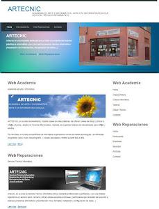 PÁGINA WEB ARTECNIC