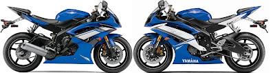 2012 Yamaha R6 VS 2011 Yamaha R6