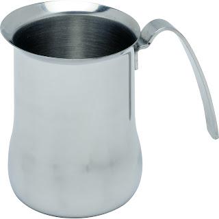 Cana pentru abur pentru preparare Cappuccino cu maner din otel inoxidabil, 6 cesti - Ø 95x(H)105 mm 0.70 Lit