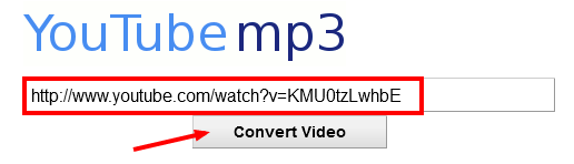 how to make a video link into mp3