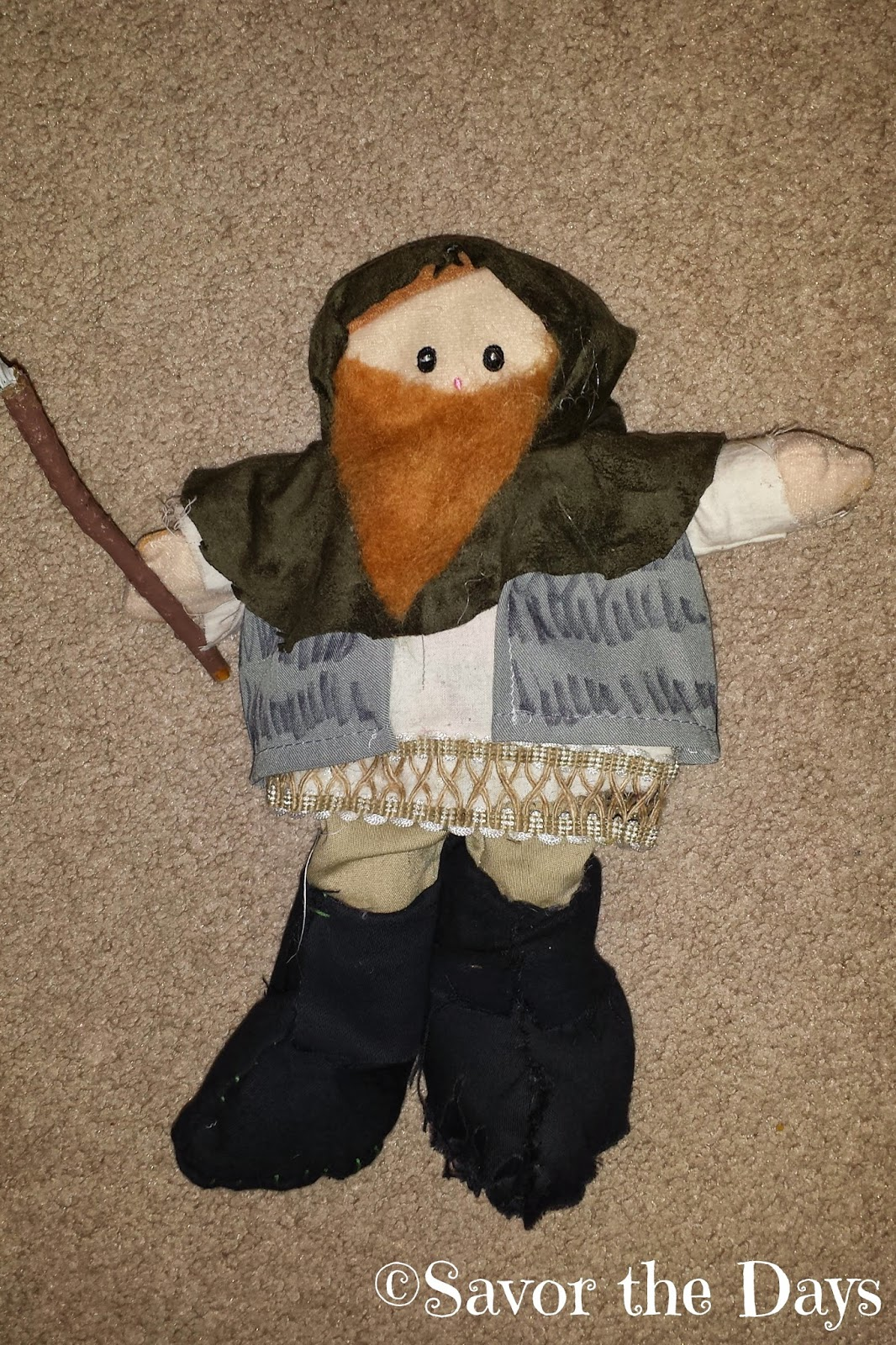 Dwarf doll from The Hobbit