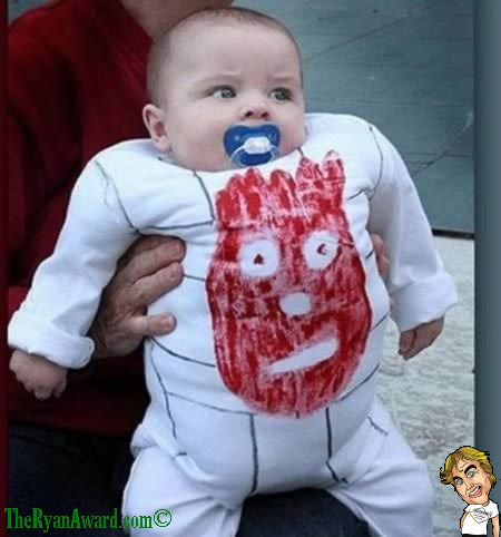 Cute baby Halloween Costume  Wilson / Cast away