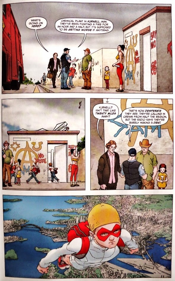 Jupiter's Legacy # 4 - Mark Millar Frank Quitely
