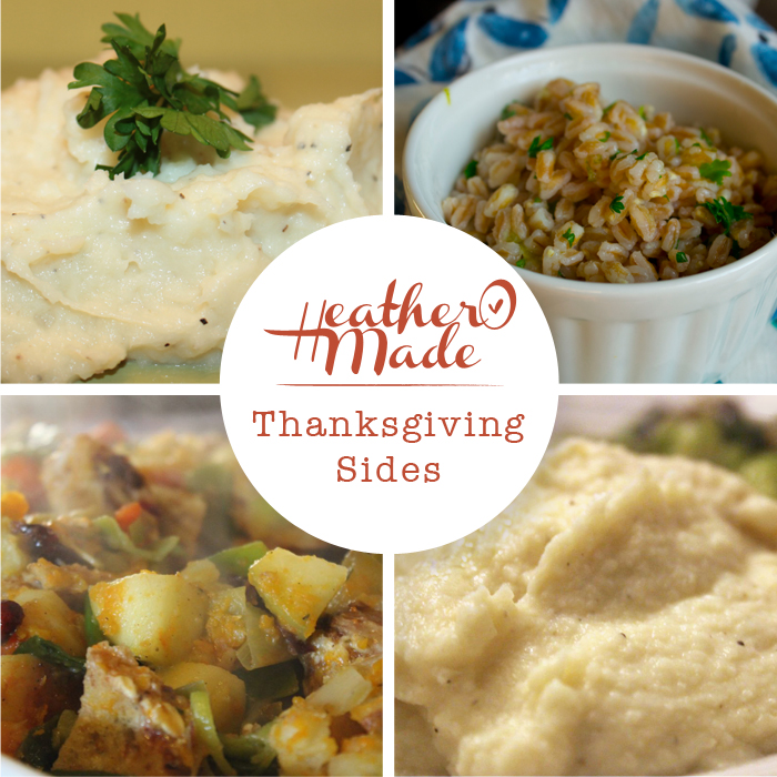 thanksgiving sides. recipes.
