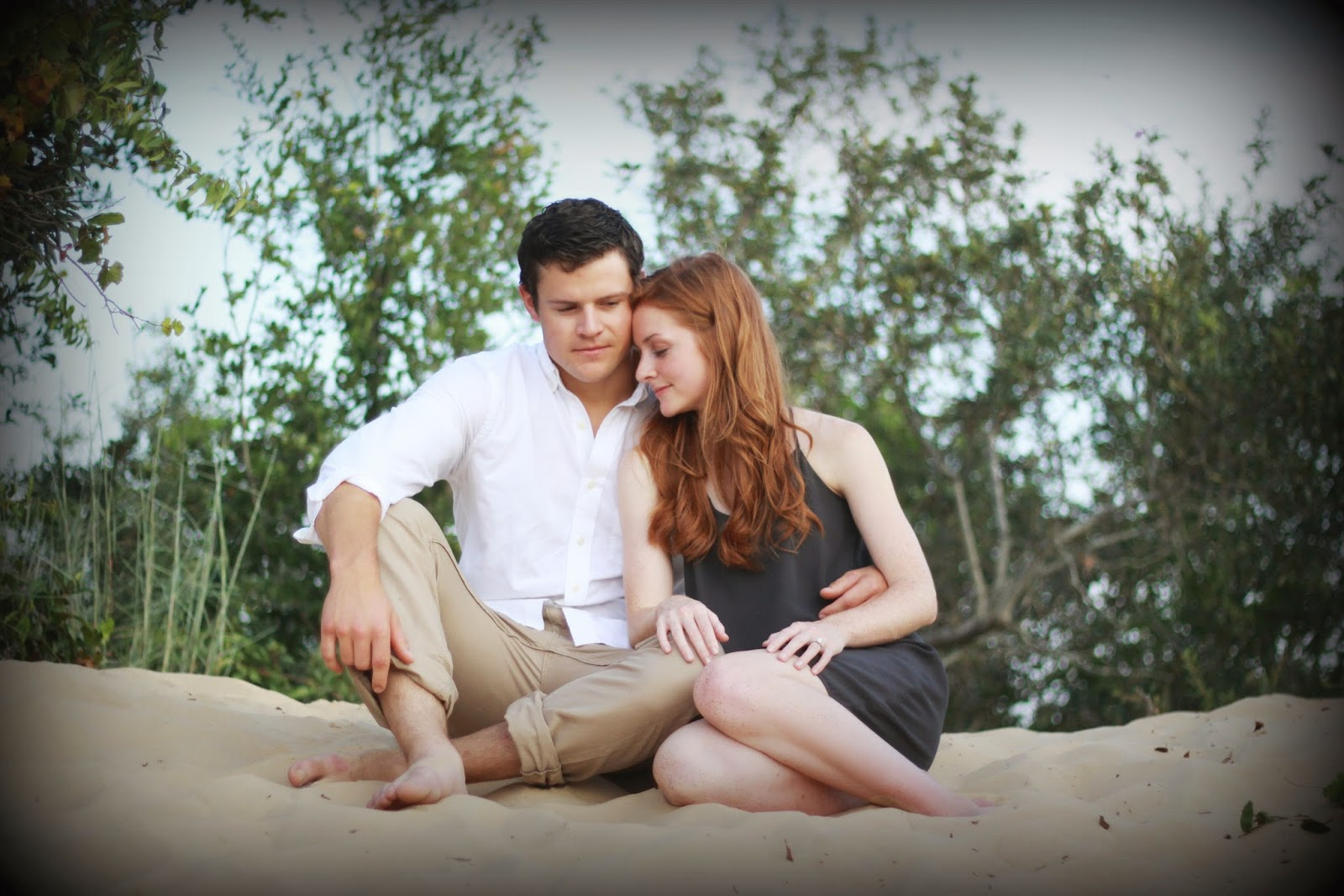couple photography, engagement pictures, Pensacola Beach portraits