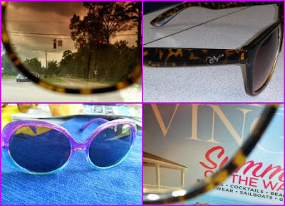 sunglass collage