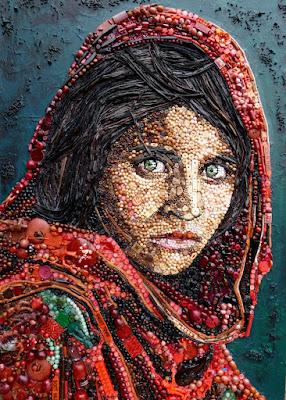 Afghan, Girl, Jane Elizabeth Perkins