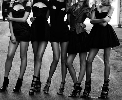 Black Party Dress on Little Black Dress Bachelorette Party Pinned Via Www Weheartit Com