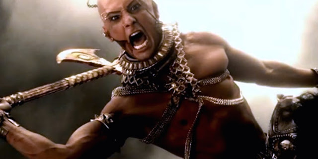 300: Rise Of An Empire - Xerxes in actiune