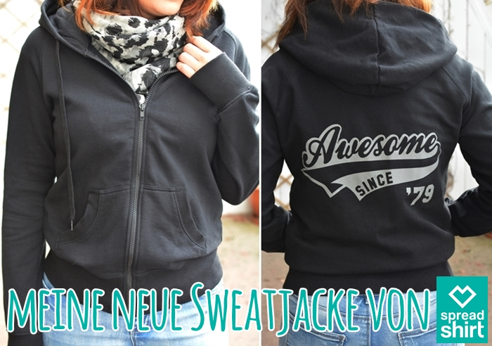 Sweatjacke von spreadshirt