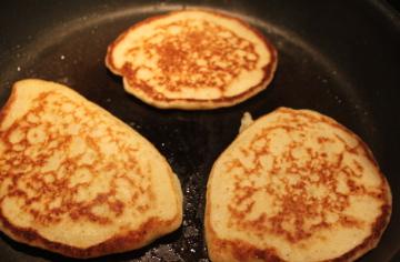 mjölkfria amerikanska pannkakor
