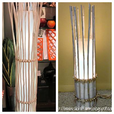 silo hill farm floor lamp knock off. Black Bedroom Furniture Sets. Home Design Ideas