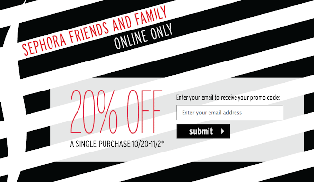 Sephora coupon codes 20 off