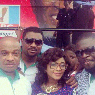 nollywood campaign for fayemi
