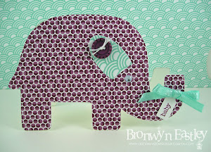Baby Elephant Card Tutorial and Templates