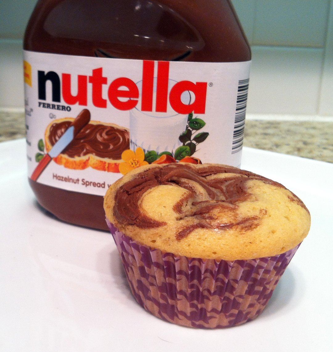 The Great Cupcake Adventure: Nutella Cupcakes